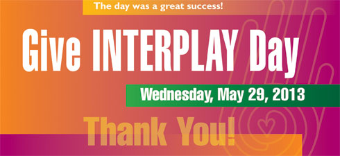 Give InterPlay Day 2013